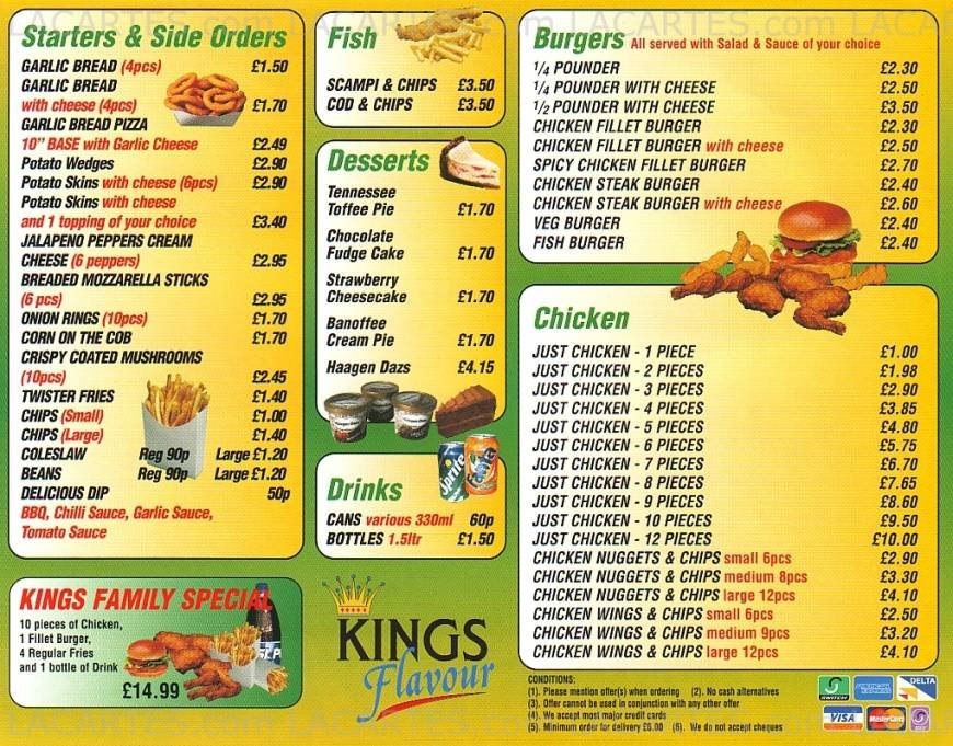 Fast Food Cheap Prices