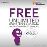 Unlimited 4G Talk, Text, and Data $49 month