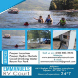 Emmanuels RV Court|Shuswap lake BC  campgrounds