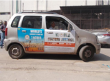 Advertising Solutions right at your Car! of CashurDrive Marketing Pvt. Ltd