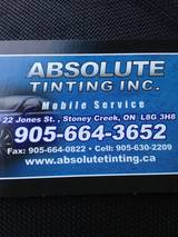 Absolute Tinting Inc of Absolute Tinting Inc