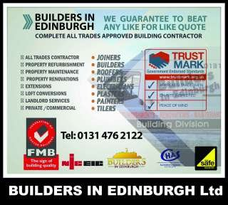 Builders In Edinburgh Ltd