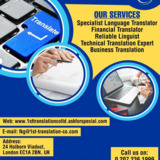 1st Translation Co Ltd | First translation services London