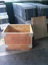 package of plywood case for puting sic kiln shelves