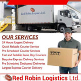 Largest Express Courier Delivery in London | Red Robin Logistics Ltd