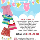 Dress My Baby | Colourful organic clothes for children New South Wales