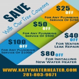 Katy Water heater TX