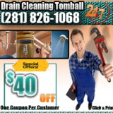 Drain Cleaning Tomball TX