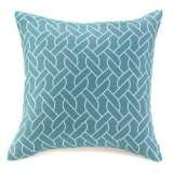 Blue knots pillow- American made