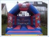 Pirate Bouncy Castle - perfect for a pirate themed party!