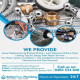 Residential and commercial plumbing in Rockdale | Better Flow Plumbing