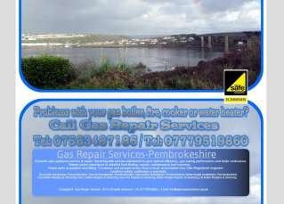 Gas Repair Services Pembrokeshire