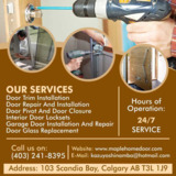 Maple Home Door Services | commercial door installation cost