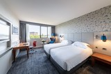 Twin Executive Guest Room at Hilton Strasbourg Hilton Strasbourg 1 Avenue Herrenschmidt