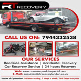 Vehicle Breakdown Recovery Service in South London | R T Recovery