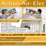 Air Conditioning Repair and Maintenance in Sunshine Coast | Action Air