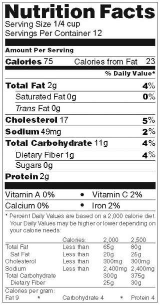 Nutrition Facts Maker