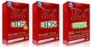 R4 3DS/R4i SDHC 3DS card for 3DS/3DS XL V5.1.0-11