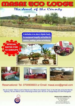 MASAI ECO LODGES LTD.