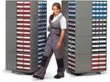 Small parts storage systems Storage Design Limited Primrose Hill
