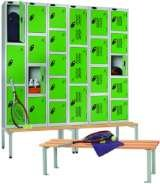 Probe lockers and cloakroom equipment Storage Design Limited Primrose Hill