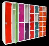 New colour range for Q series lockers Storage Design Limited Primrose Hill