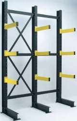 cantilever racking can be made to any size (within reason.) Storage Design Limited Primrose Hill
