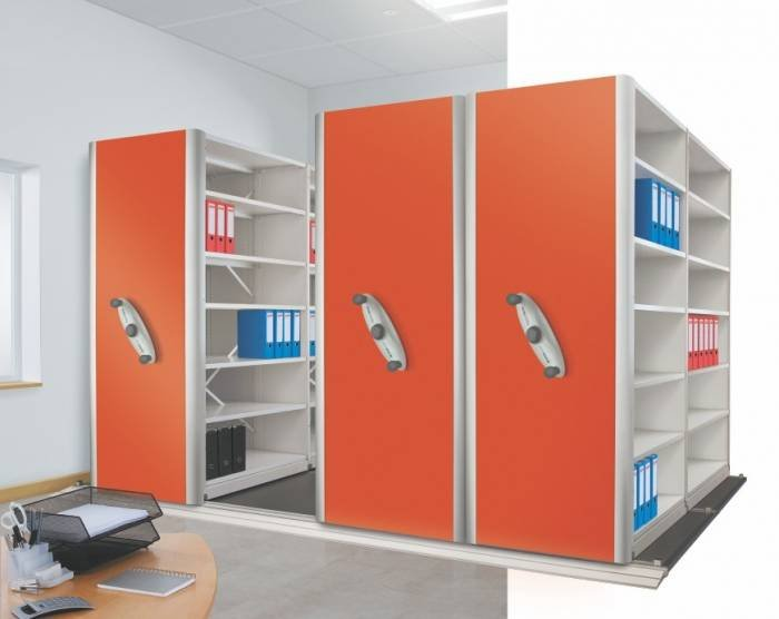 Mobile shelving PROBE products of Storage Design Limited Primrose Hill - Photo 10 of 36
