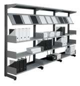black office shelving Storage Design Limited Primrose Hill