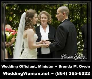 Brenda M. Owen Wedding Officiant & Minister - WeddingWoman.net