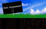 Risk assessment, business planning concept