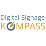 Digital Signage Kompass