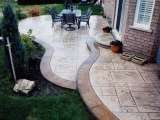 Profile Photos of stamped concrete