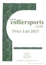 Pricelists of Collier Sports