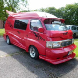 Fully Customized Toyota Hi Ace CamperShow Van