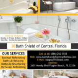 Bath Shield |Bathtub refinishing Flagler Beach
