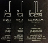 The Law Offices of Joseph J. LoRusso, PA 18500 NE 5th Ave, 2nd Floor