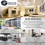 Painting and Decorating Services London | S Decor Ltd