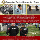 Executive Tactical Protection Team  in Los Angeles