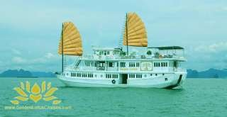Golden Lotus Cruises Halong Bay Vietnam