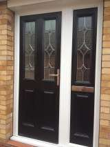 Composite Door & matching Side Panel Fitted In Nottingham