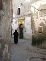 One of the old streets in the medina.