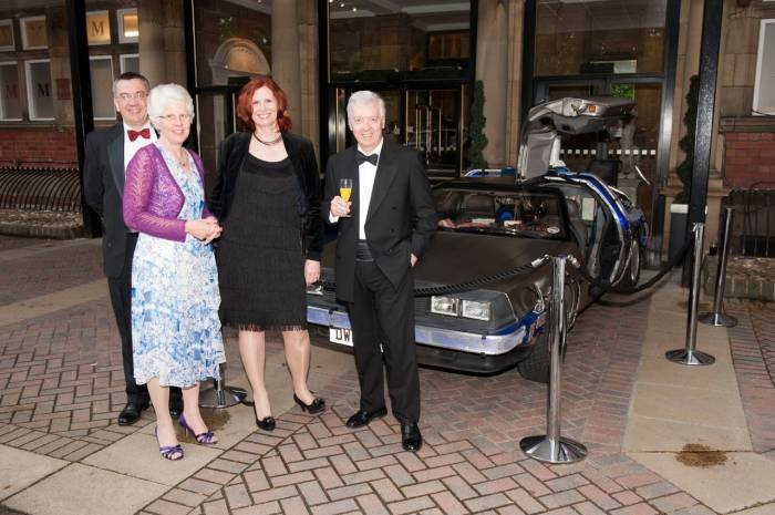 Hotel Event with Delorean Profile Photos of Delorean Hire - Delorean Weding Car - Delorean Time Machine Leeds - Photo 35 of 36