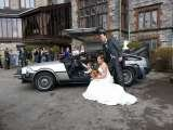 Delorean Wedding Car Delorean Hire - Delorean Weding Car - Delorean Time Machine Leeds