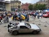 Bradford Classic Car Show - Delorean Time Machine Delorean Hire - Delorean Weding Car - Delorean Time Machine Leeds