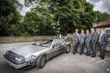 Delorean Wedding Delorean Hire - Delorean Weding Car - Delorean Time Machine Leeds