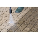 Outdoor floor cleaning with high pressure water jet Nova Caine Power Washing and Roof Cleaning 9411 Lee Highway, #503