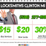 Locksmiths Clinton MI