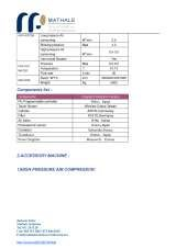 Pricelists of Mathale Solutions