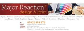 Major Reaction Design & Print